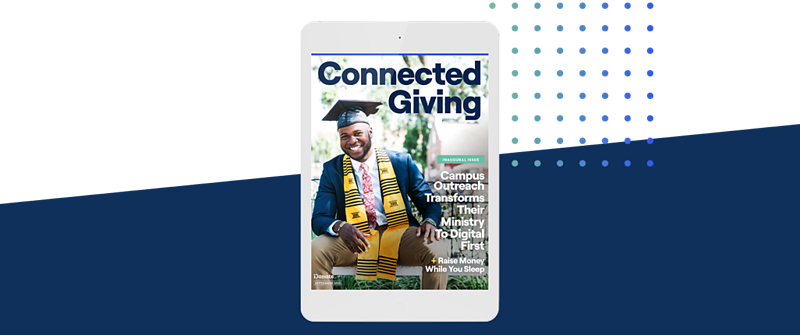 All-new digital magazine: Connected Giving